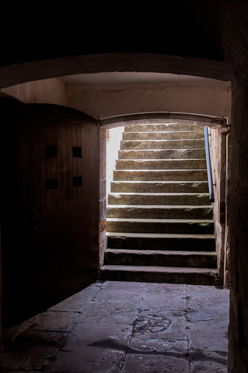 stairs to the cellar