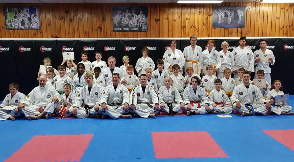 The Taekwon-Do team is moving forward very well. We hope to have a Black Belt only grading next term. Congratulations to all members pushing forward. Well done on your grading.