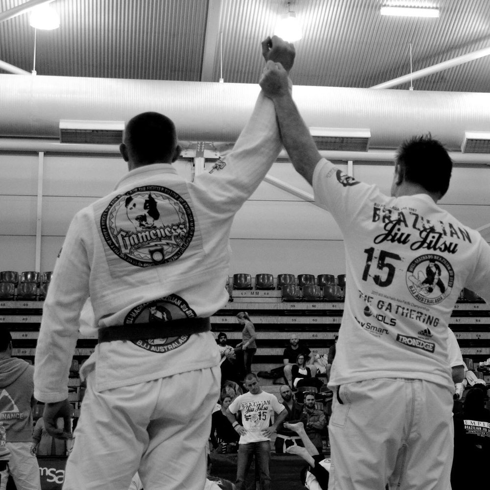 Victory at the will/machado australasian championships (gathering)