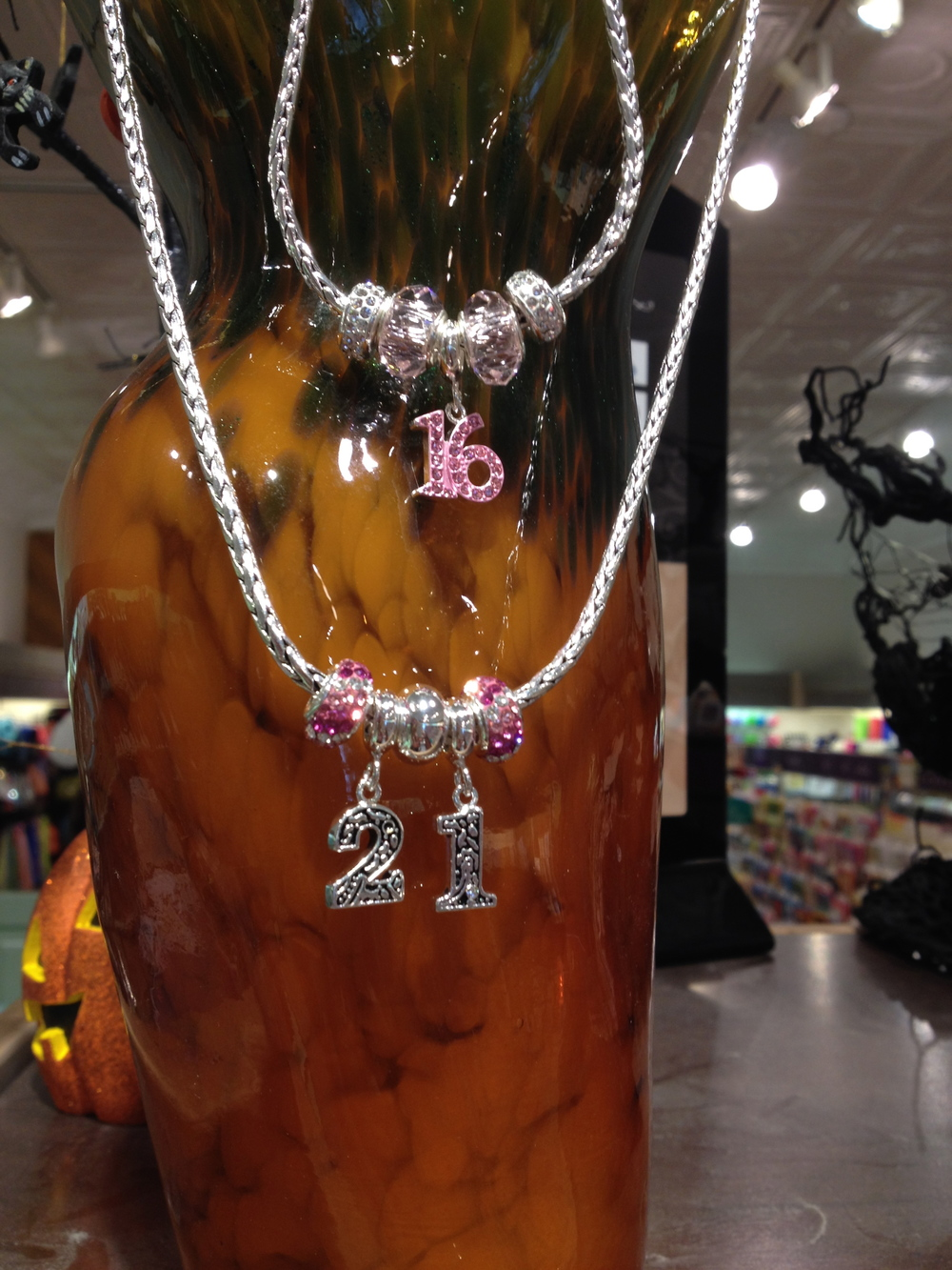 Numbers or Letters for Charms are perfect for that memorable day!