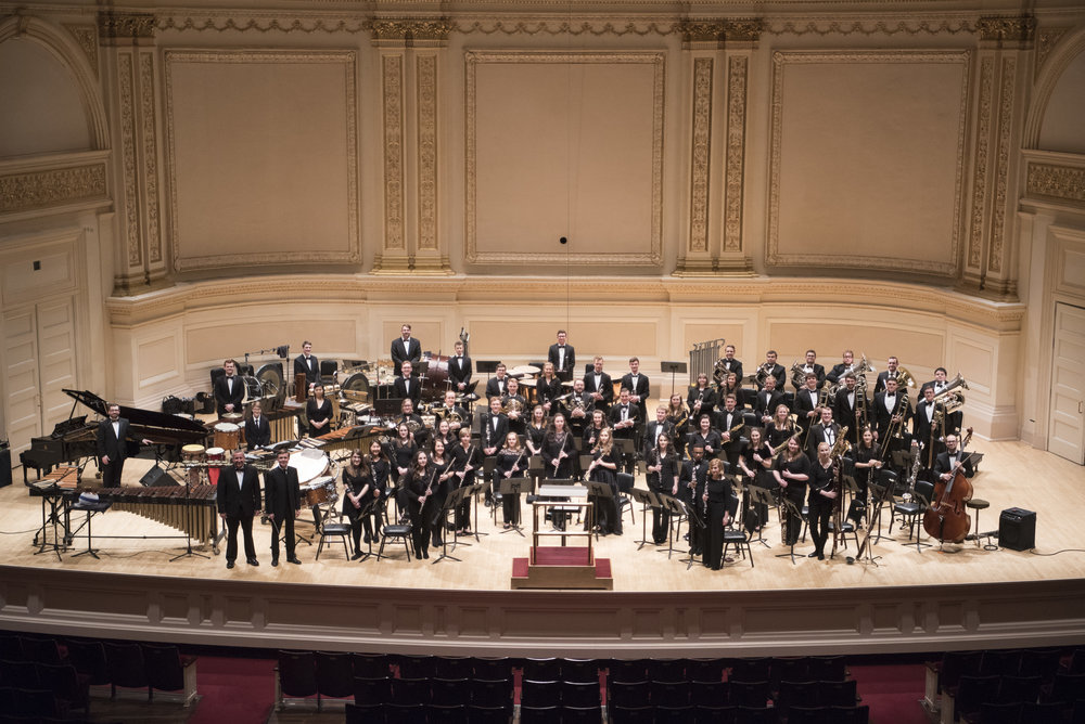 Wind Symphony at Carnegie Hall, February 2017