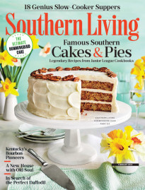 Souther Living February 2018 cover