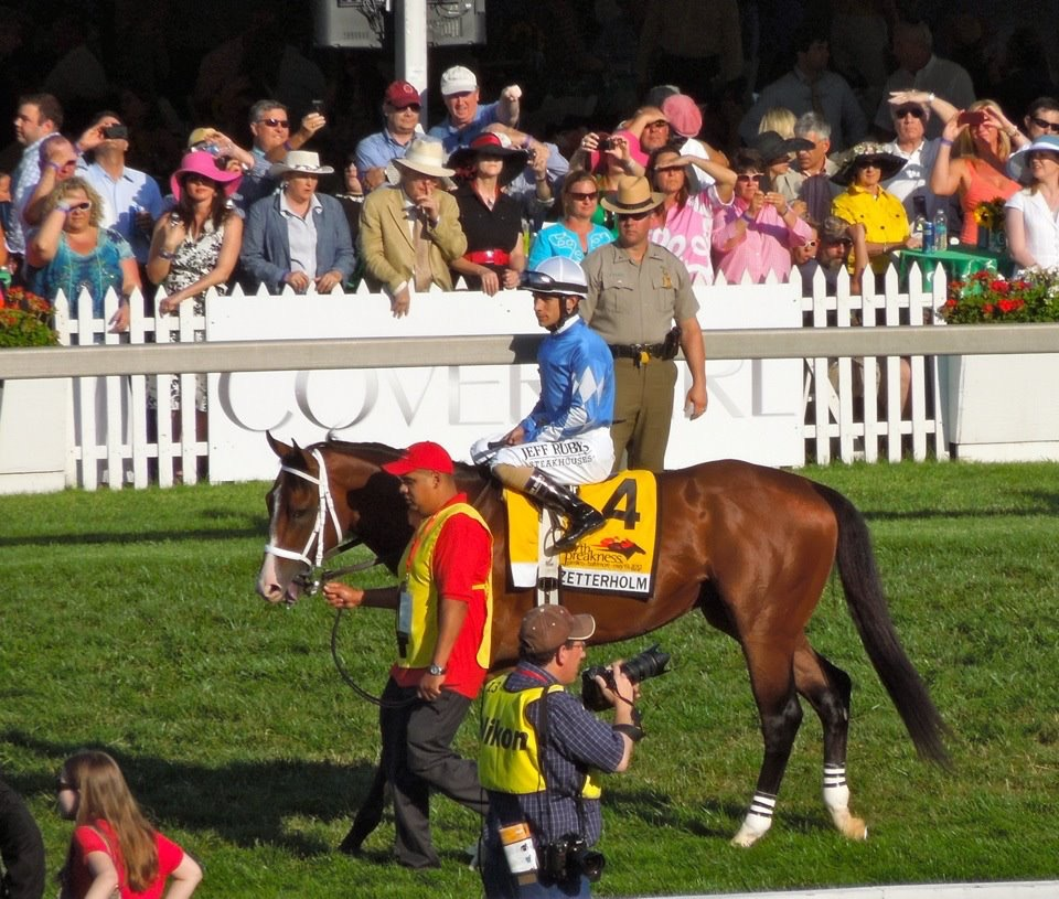 Zetterholm prior to the 2012 Preakness