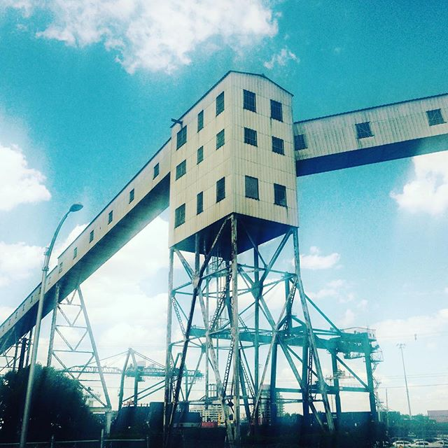 Giant mill in Mtl