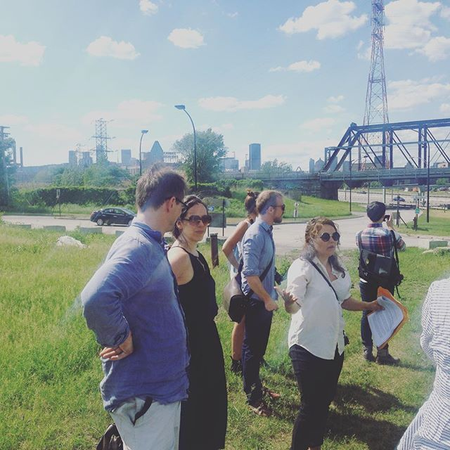 Fascinating site visit with @minmtl this past weekend at their first annual urban manufacturing summit