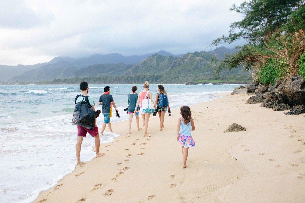 walks on the beach - this creative pursuit