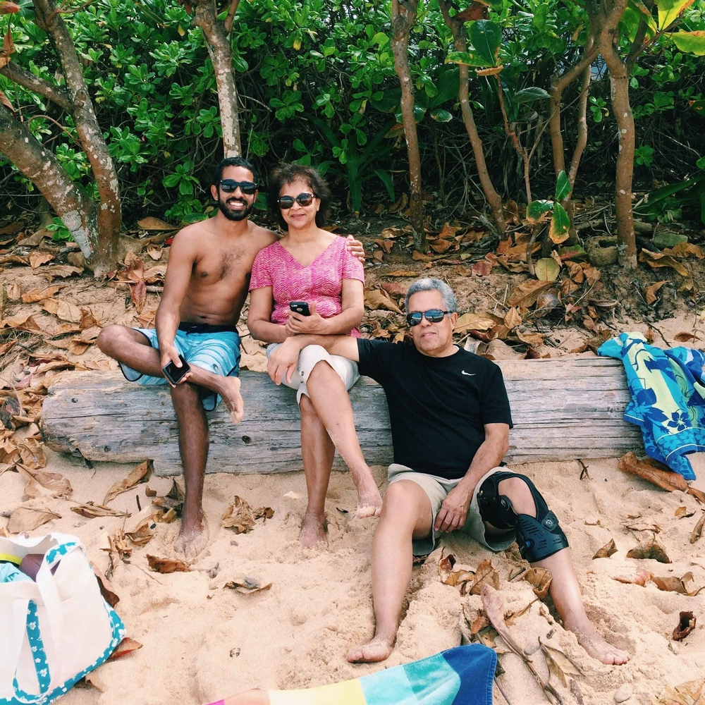 family in Hawaii - this creative pursuit