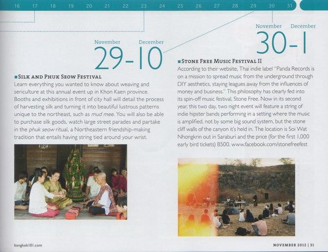 Bangkok 101 November 2012