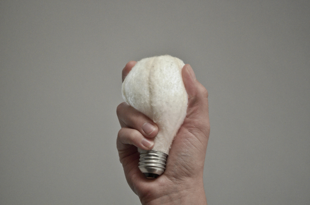Soft Light,  the plush light bulb (SVA PoD)