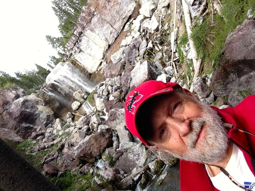 Paulina Falls not far from camp