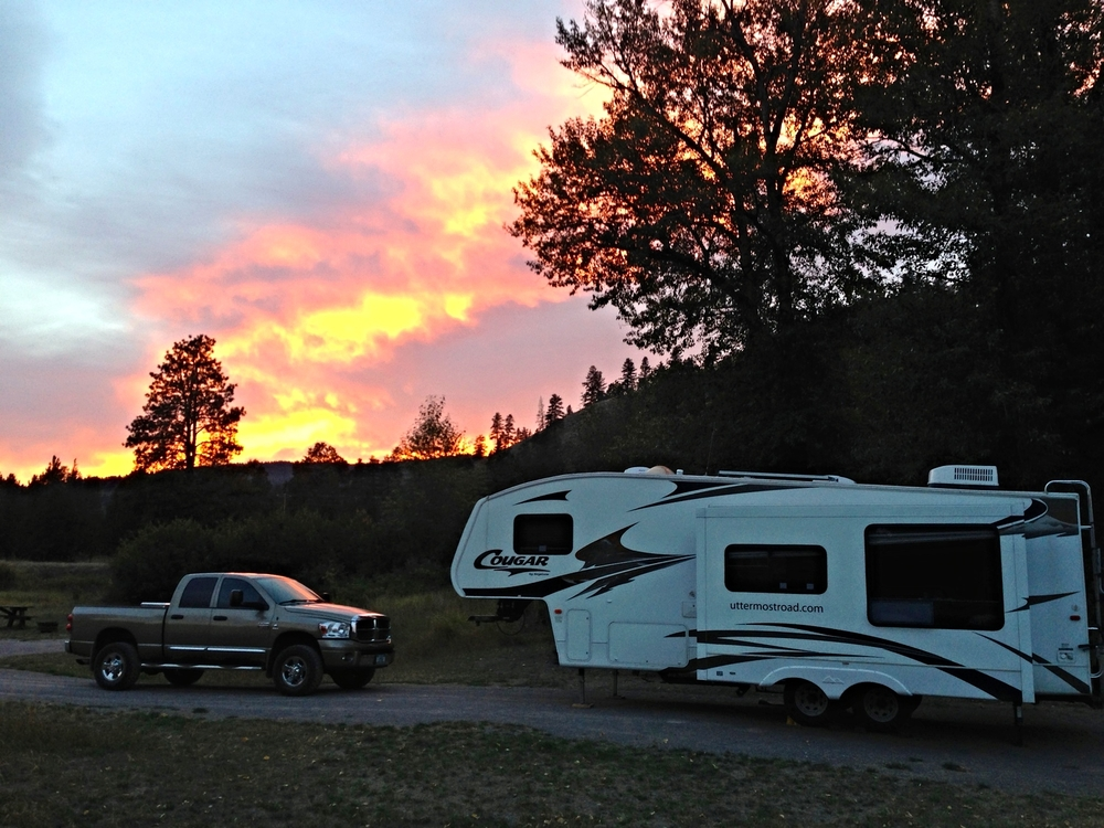 Clearwater Crossing campsite