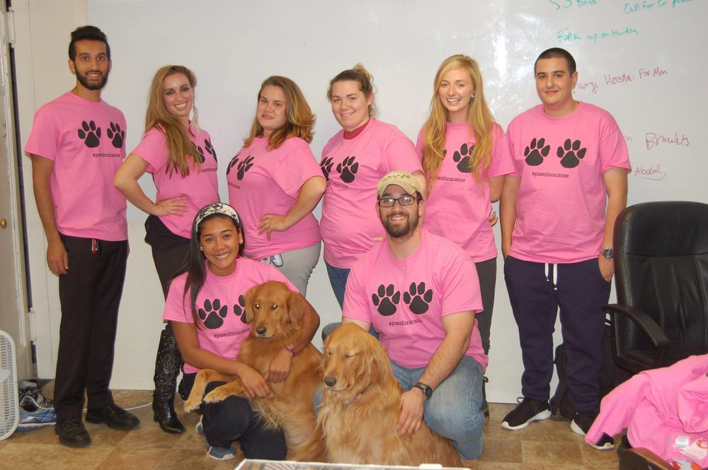Daniel Reitman, Breast Cancer Fundraiser with Dan's Dog Walking and Pet Sitting Team.jpg