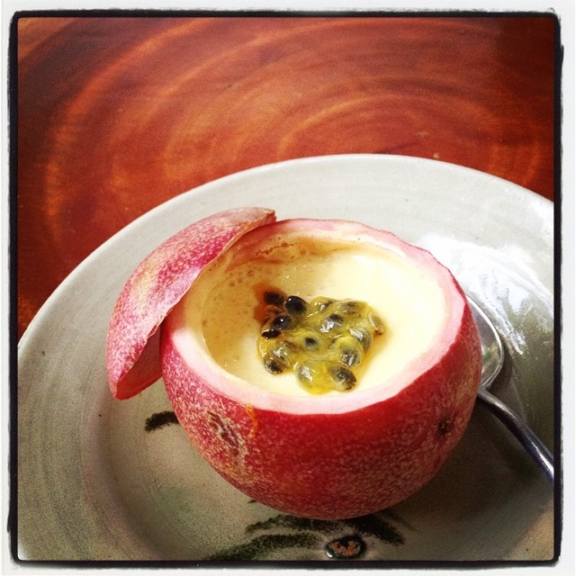 Passionfruit Mousse ;) a new dessert in the house this July