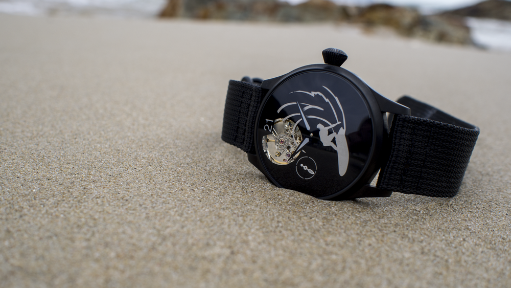 Shinn Kawasaki's eoniq custom watch