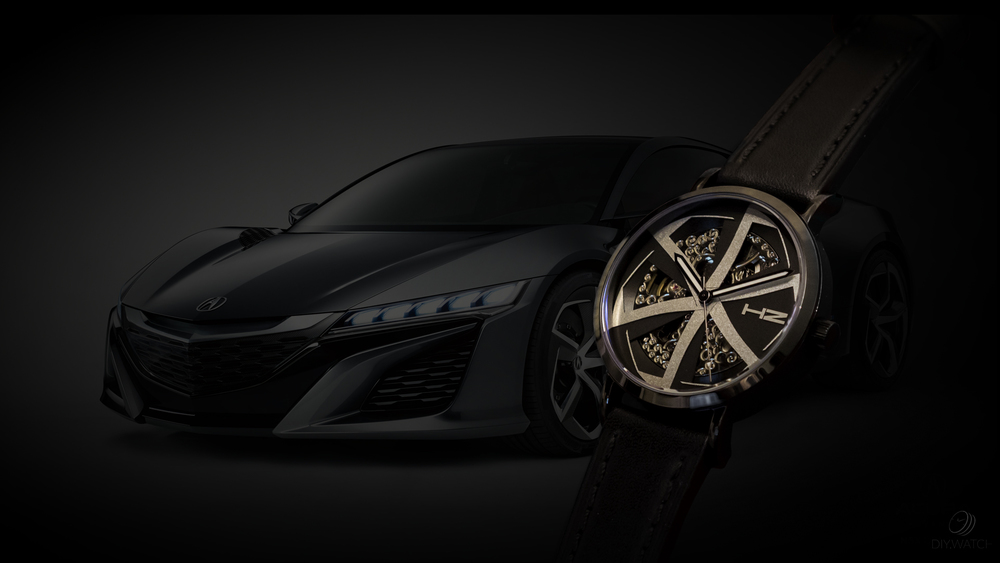 eoniq custom watch - acura concept