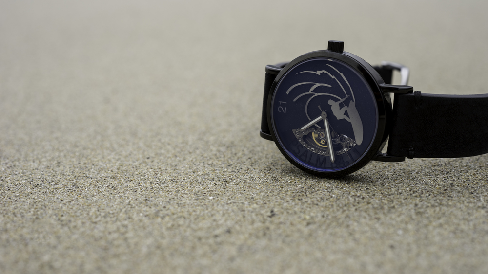 eoniq custom watch - surfer's watch