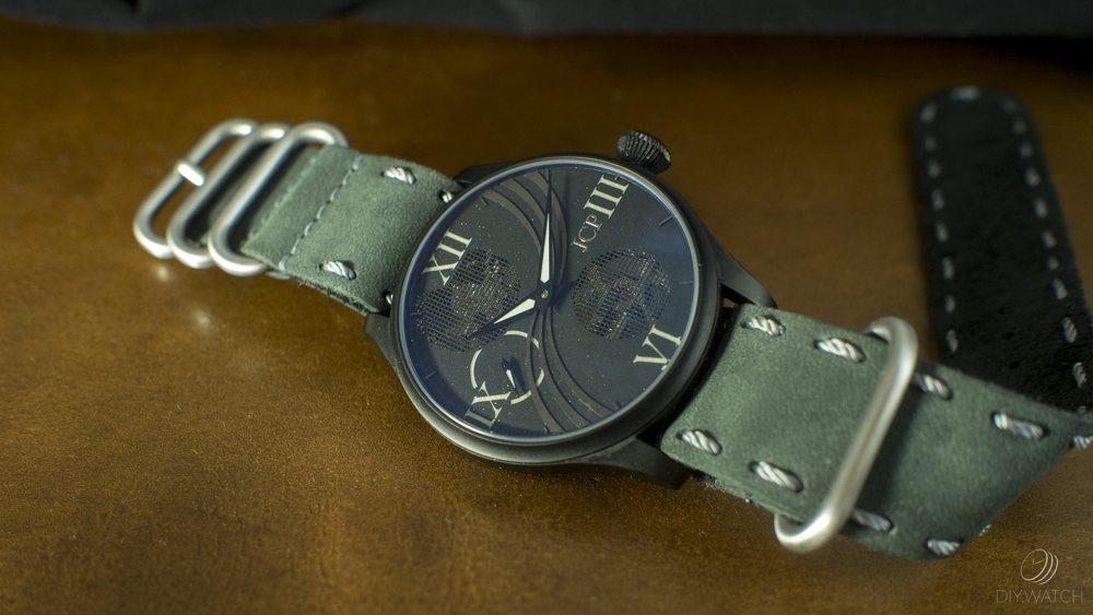 Jason Christopher Pandy eoniq custom watch
