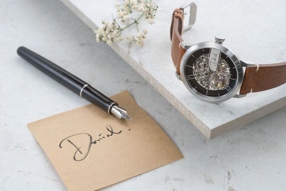個人化的機械腕錶