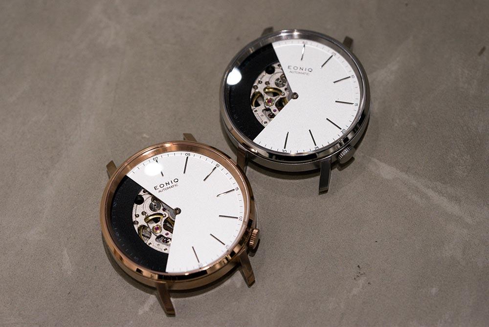 Skeleton watch for EONIQ workshop