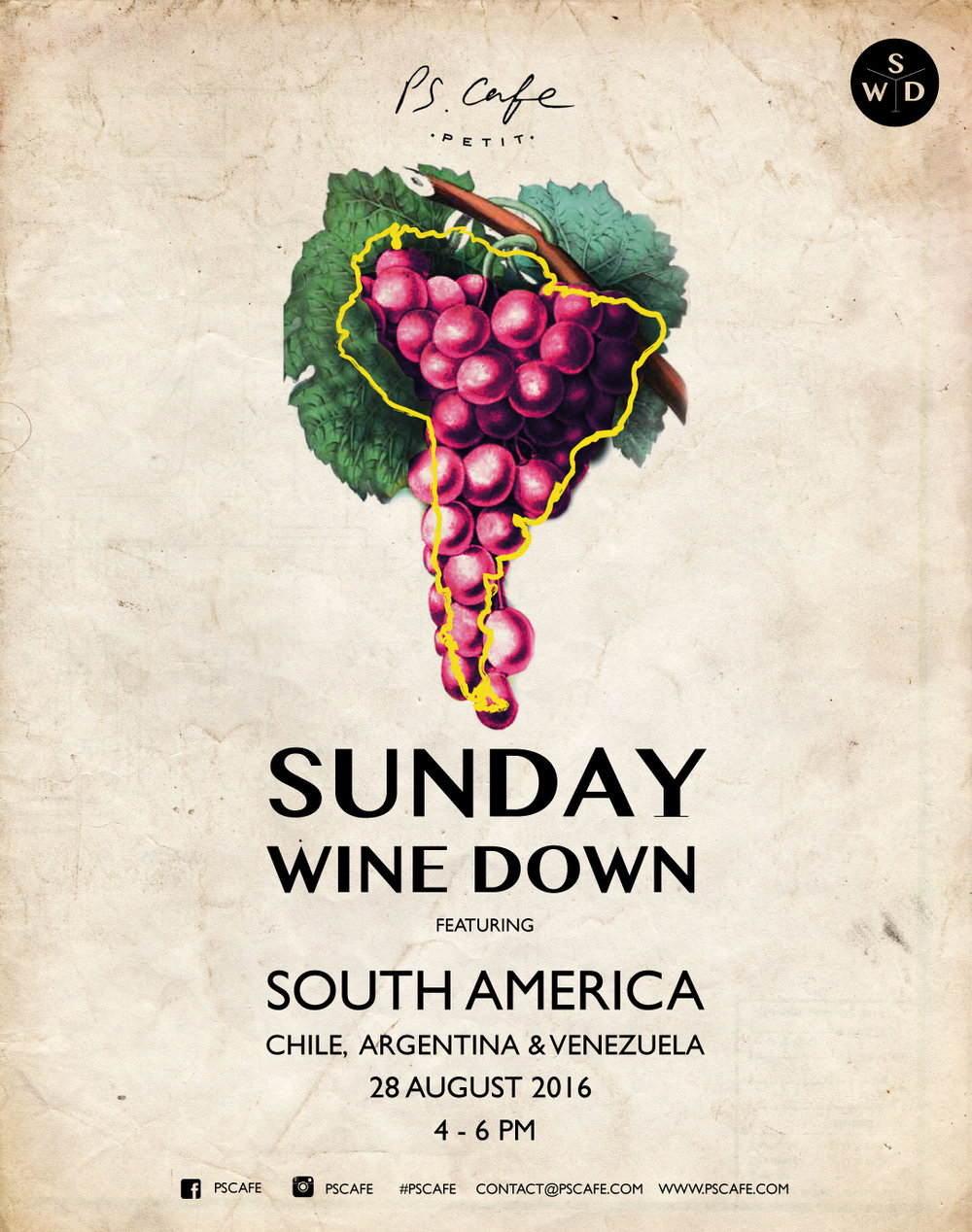 Sunday Wine Down is heading to South America!! We've scoured the finest regions of Argentina, Chile, and even Brazil to prove there's much more to Latin American drinking culture than rum...although we're bringing Venezuela's finest to the party too!  Event page   here!
