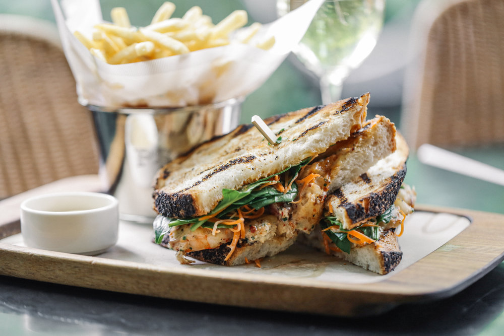 Chargrilled Chunky Prawn Sandwich