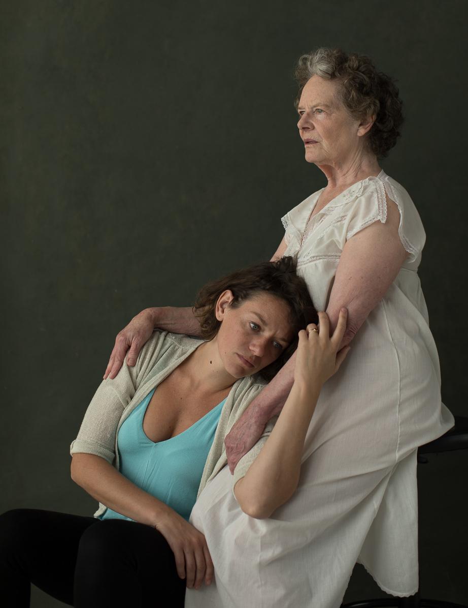 Beth Thompson, JoAnn Johnson. Photo by Gary Norman.