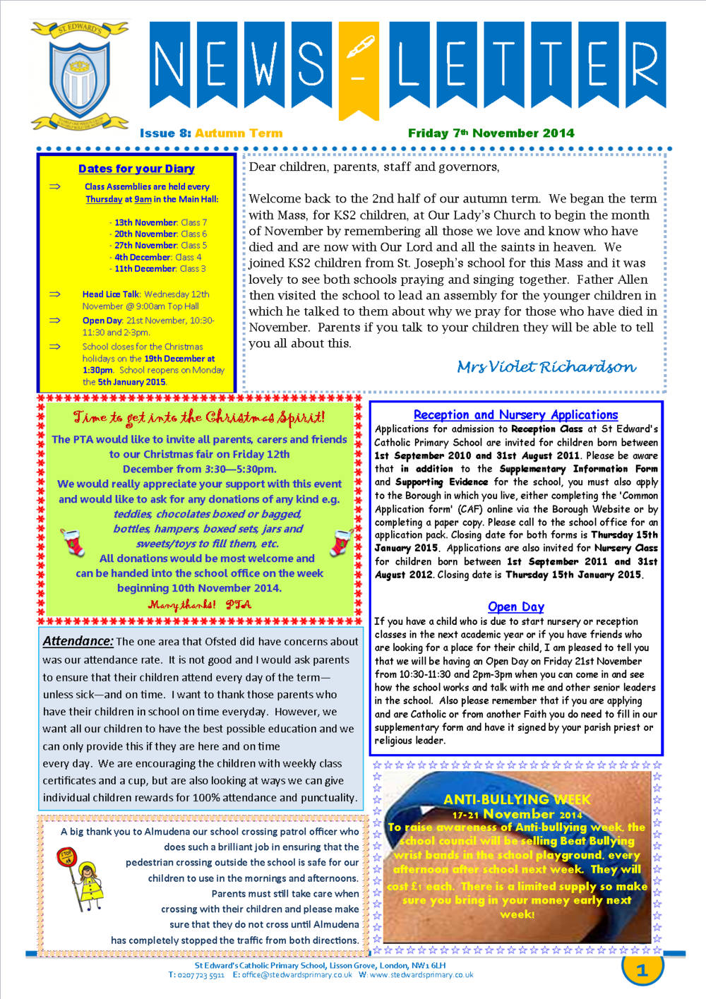 1St Edward's Newsletter Issue 8 7 November 2014.png