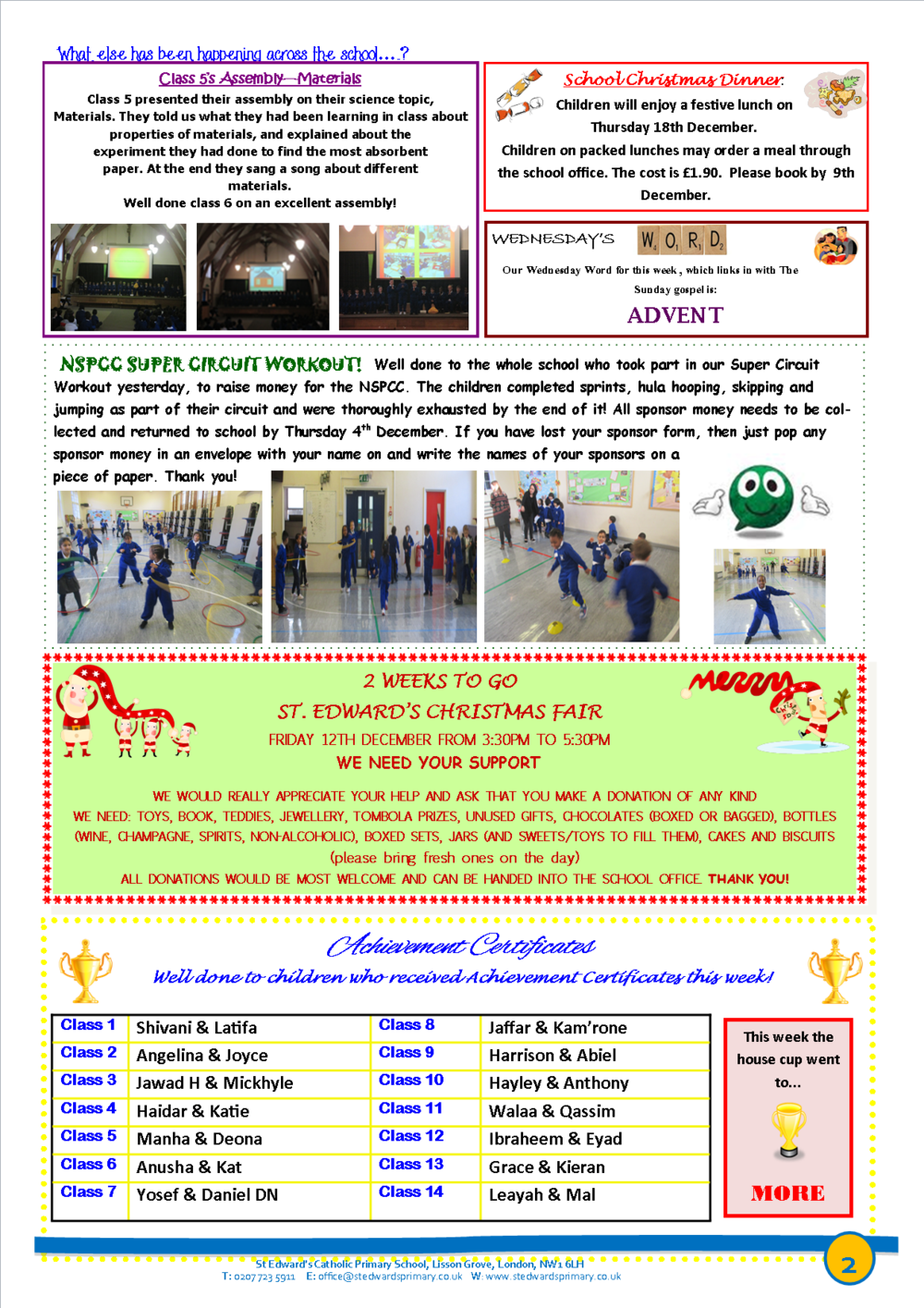 2St Edward's Newsletter Issue 11 28th November 2014.png