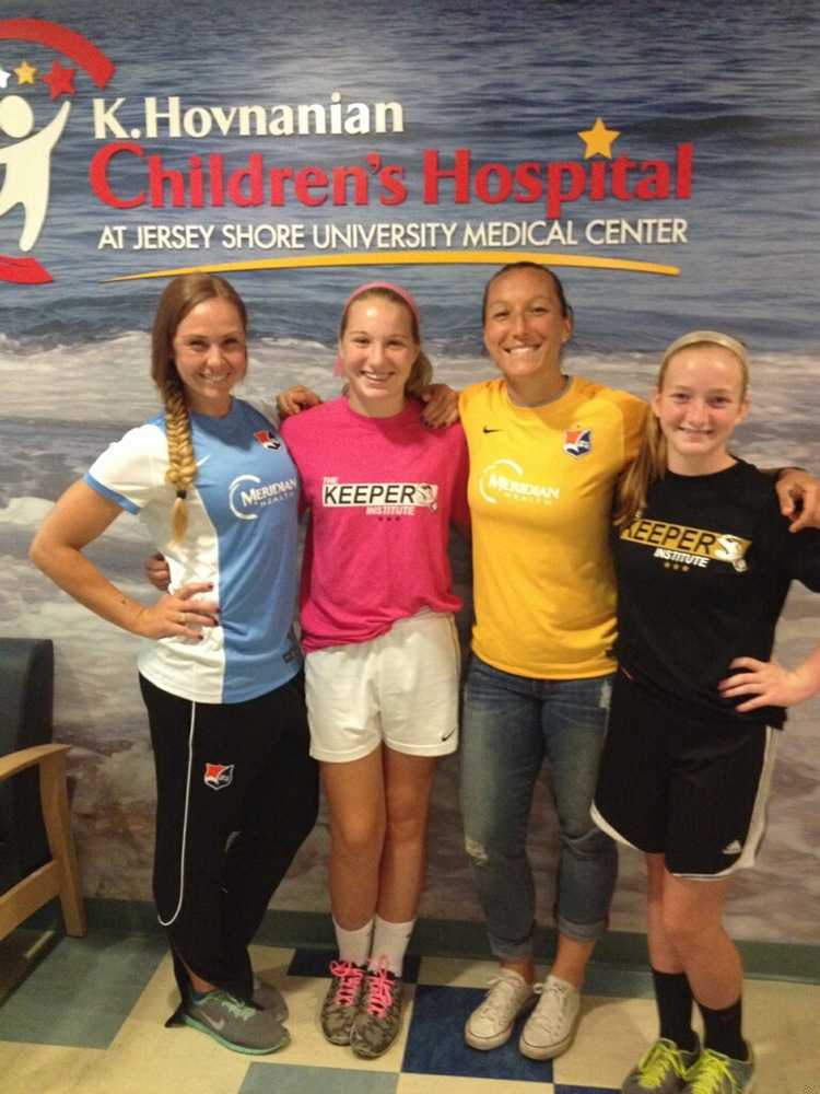 Ashley Nick, Grace Gordon, Jillian Loyden, Katie Pierson (Left to Right)