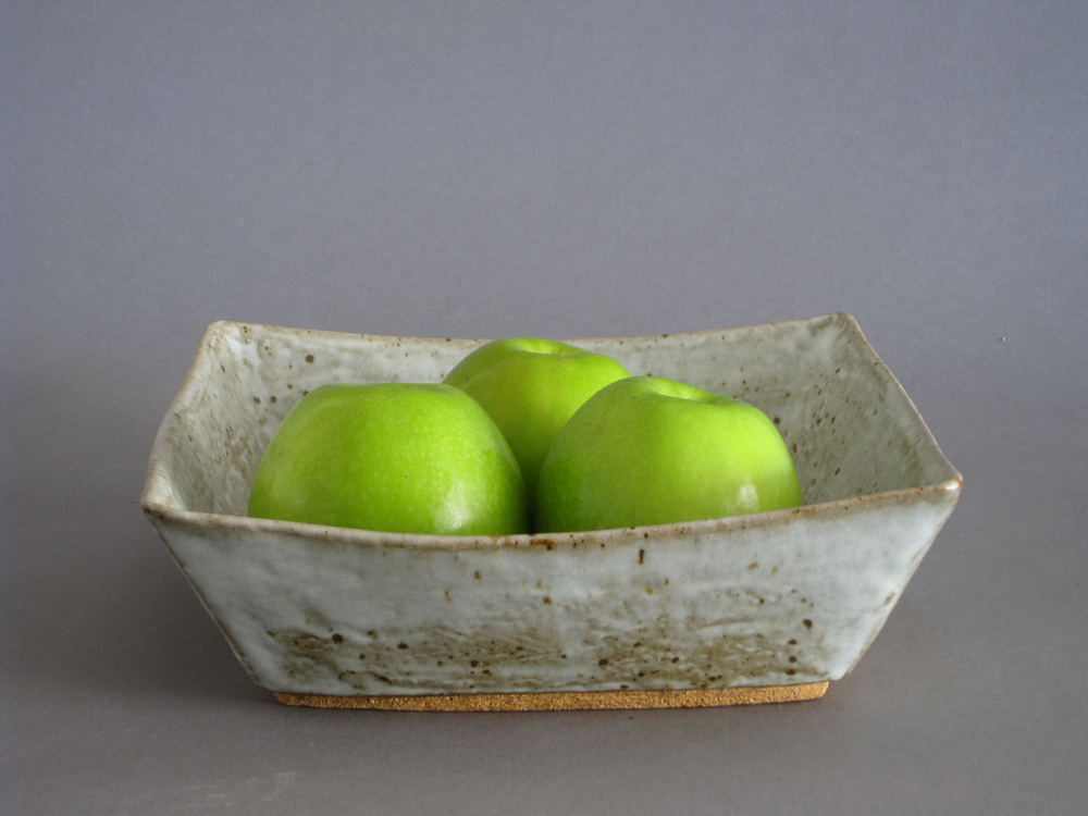 Mottled Square Bowl