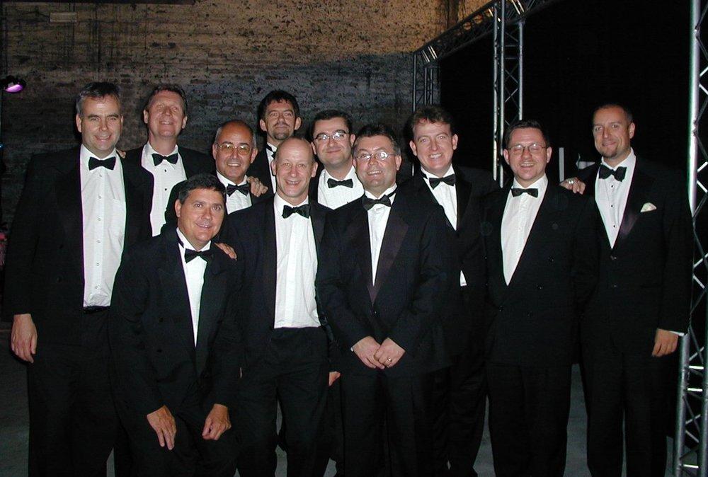 Shirley Bassey Band, Venice, 2003