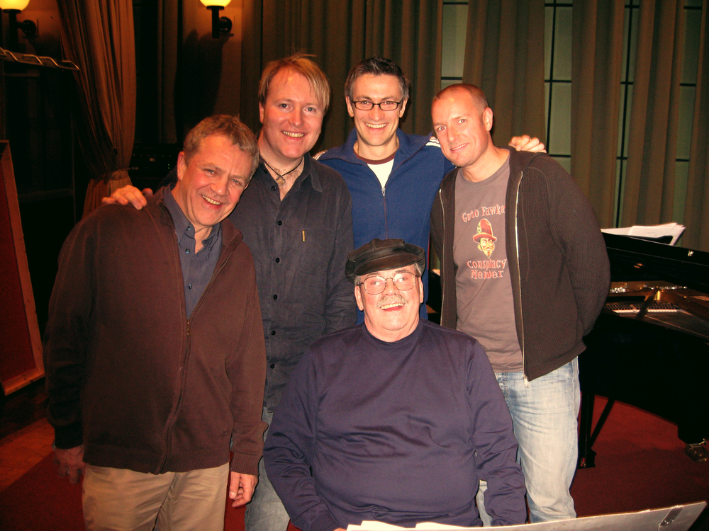BBC Maida Vale Studio 3, 2007. Jeff Daly, Howard McGill, Dave O'Higgins, Phil Woods, MW