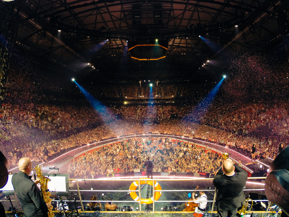 Robbie Williams, Hamburg, 2014