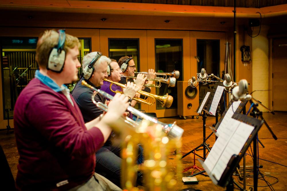 Tom Walsh, Mike Lovatt, Simon Gardner, Paul Spong,  Air Studios, December 2014