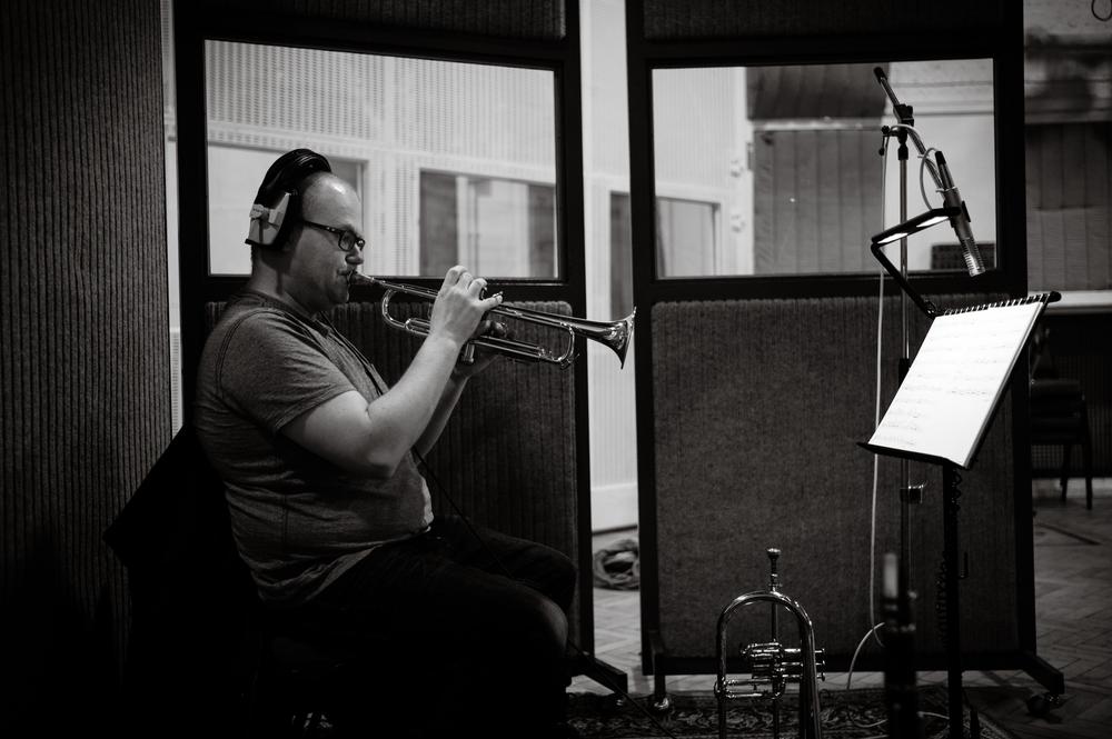Pat White, Abbey Road Studio 2, May 2015
