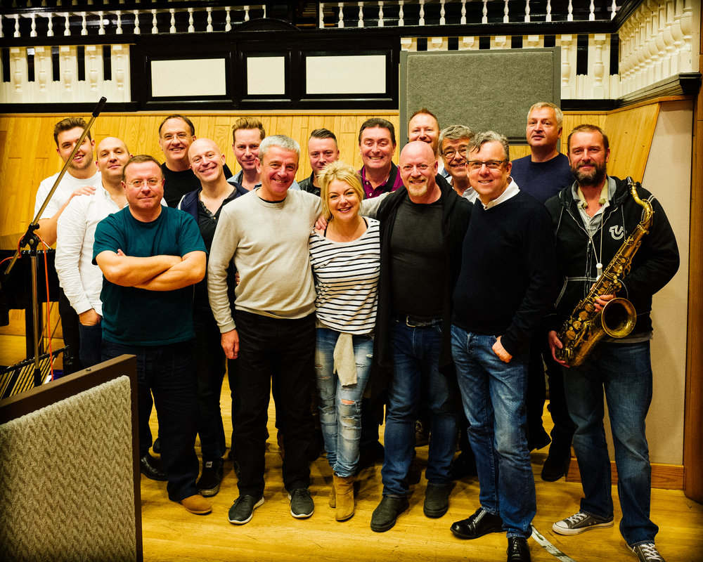 Recording with Sheridan Smith, Angel Studios, September 2017