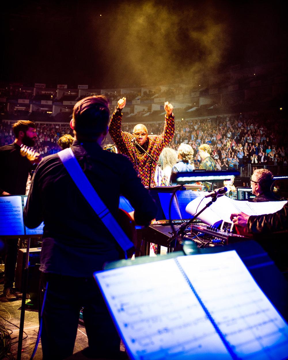 Quincy Jones, London O2 Arena, June 2018
