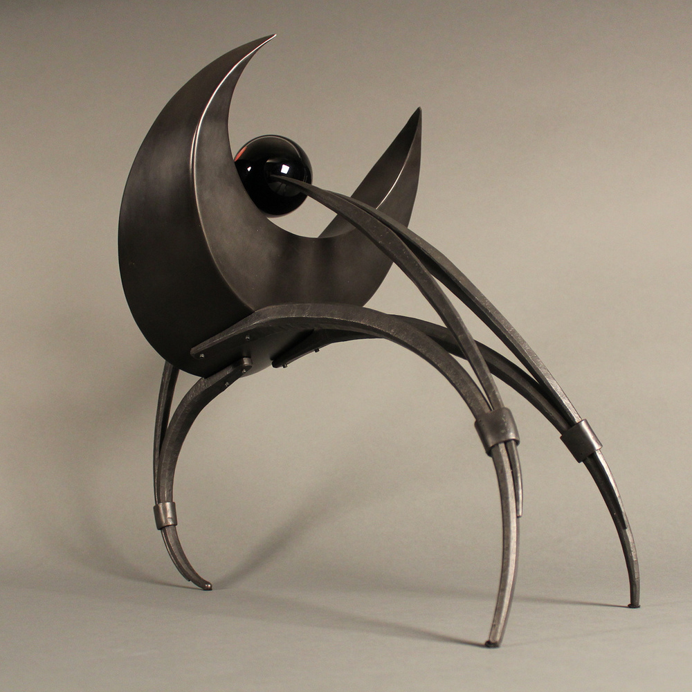 protecting the young - mild steel, glass, 2012