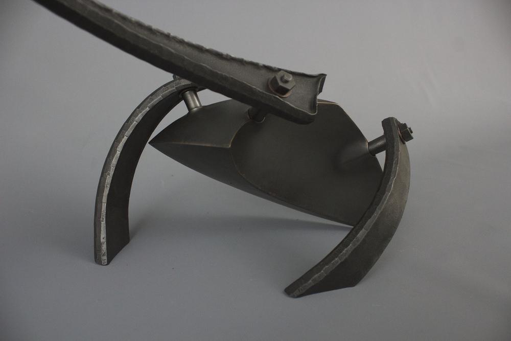 wing bone - mild steel, copper 2013