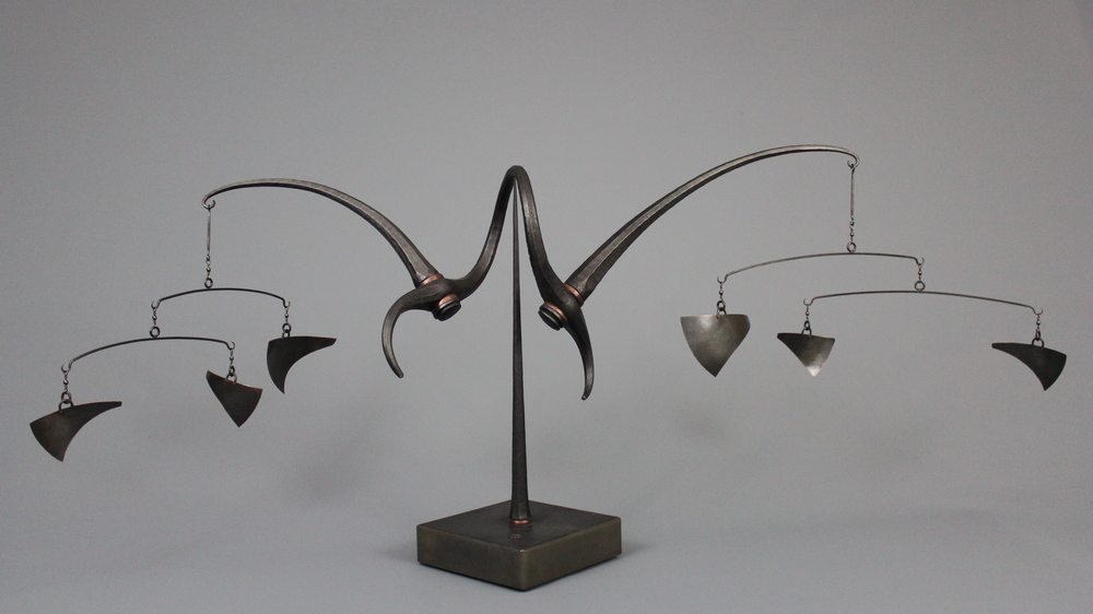 untitled - mild steel, copper, 2012