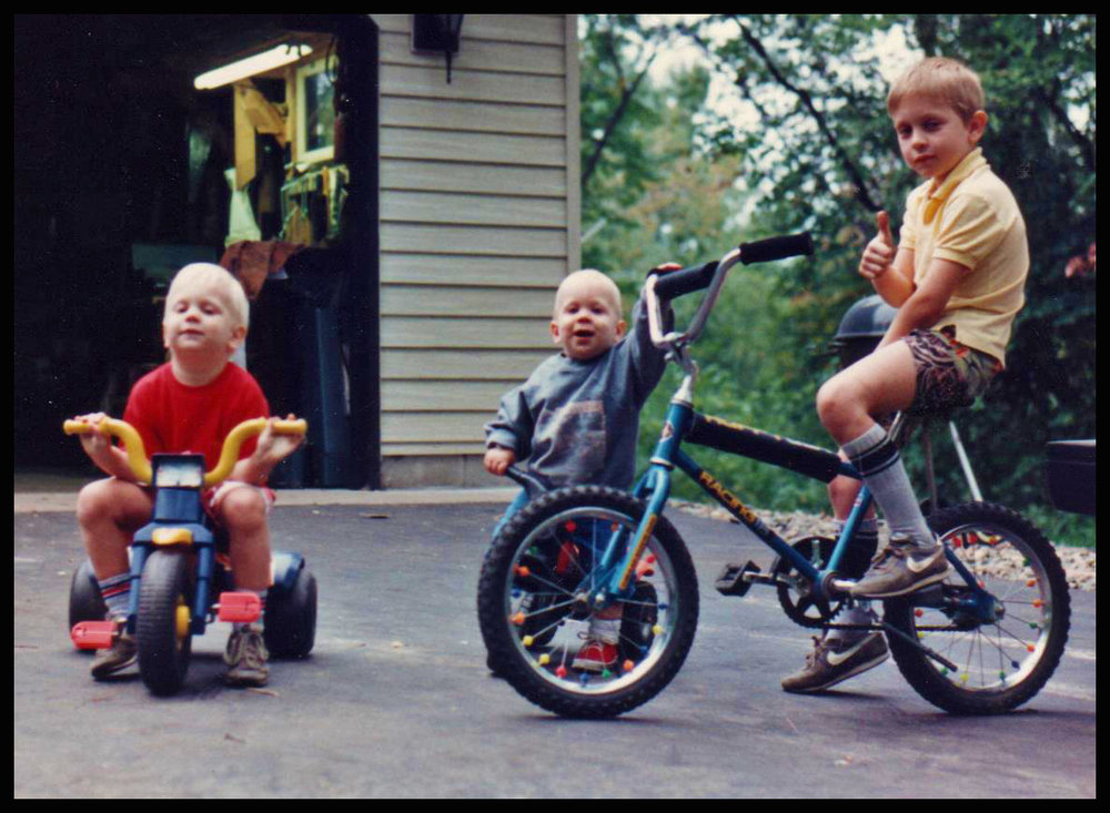 Bikes have been a way of life since the beginning for me