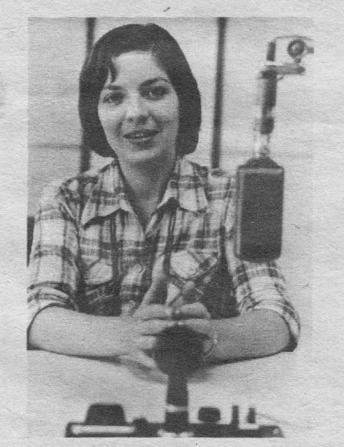 Egy kép a múltból... Mária 3 évtizeden át volt a Magyar Rádió munkatársa, megkapta a Legszebben Beszélő Rádiós díját is.