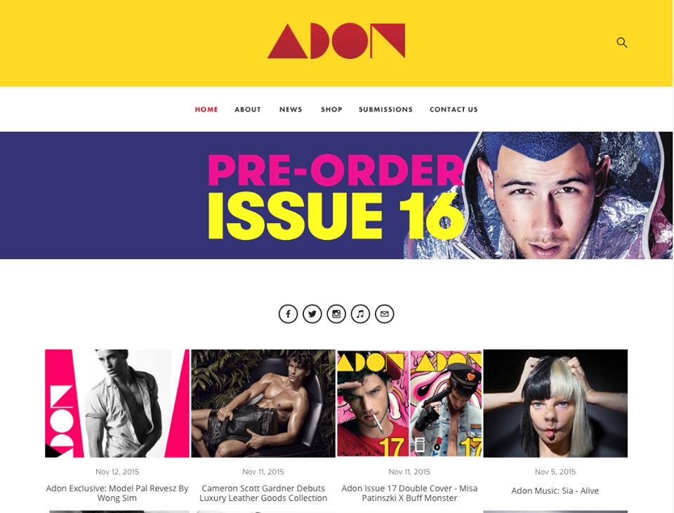 Adon Magazine - Dec. 2015