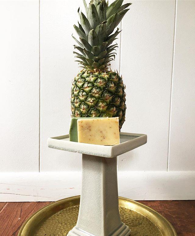 New skincare arriving this week | made in New York | #skincare #pineapple #natural #organic #madeinnewyork #madeinamerica