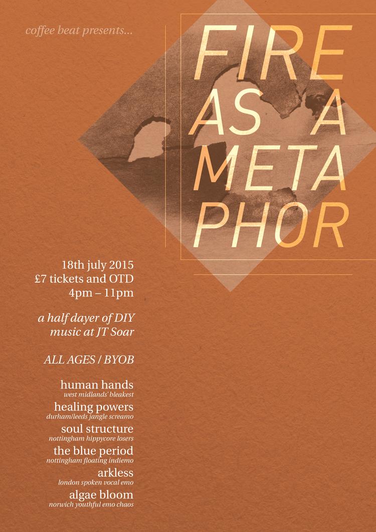 'Fire As A Metaphor' poster