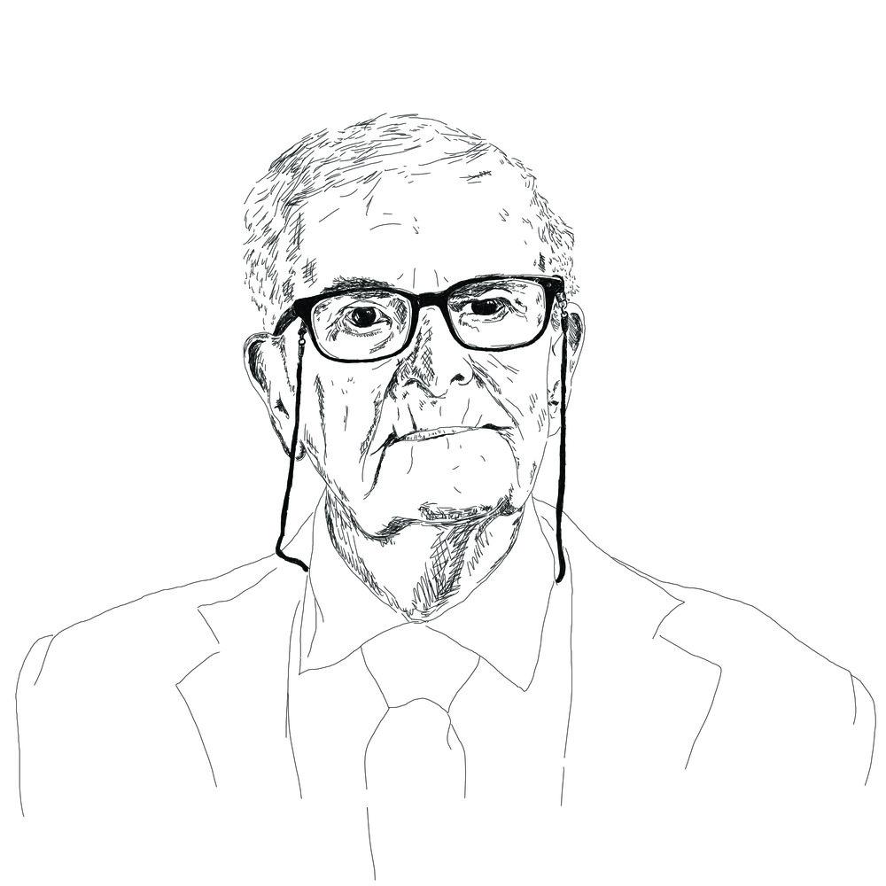 Harry Leslie Smith portrait