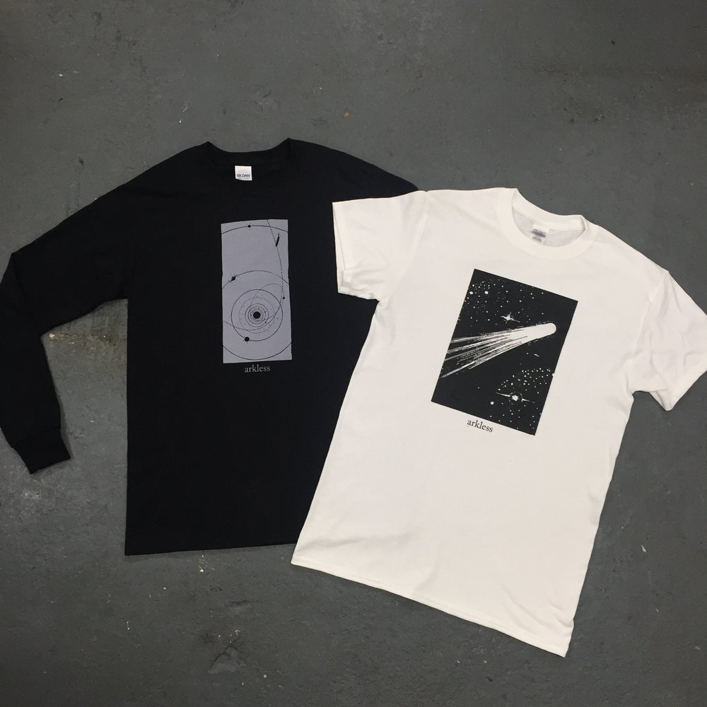 Arkless tshirts and long sleeves