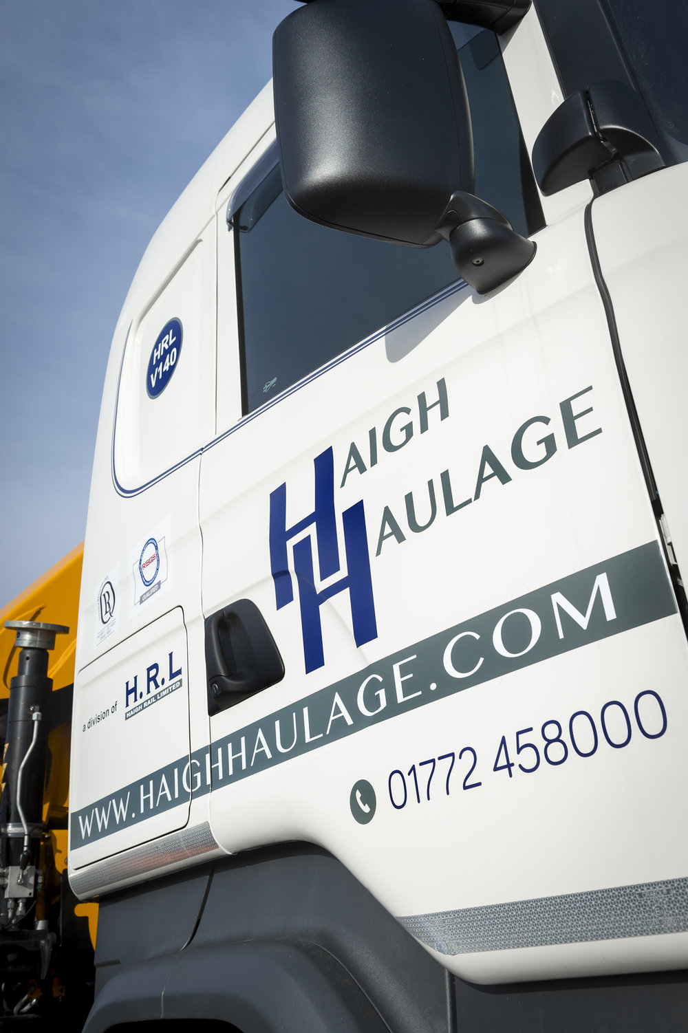 Branding and livery for Haigh Haulage