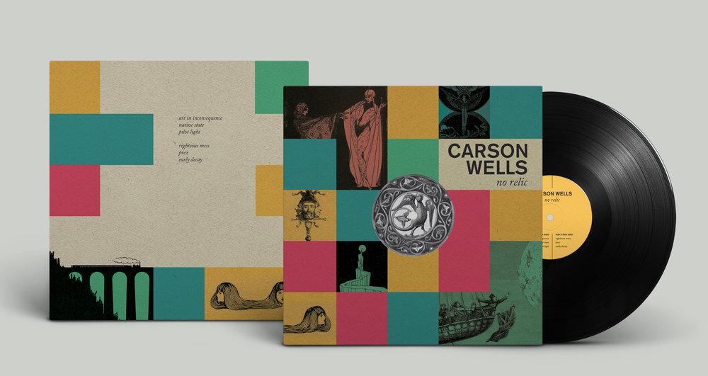 Carson Wells 'No Relic' LP