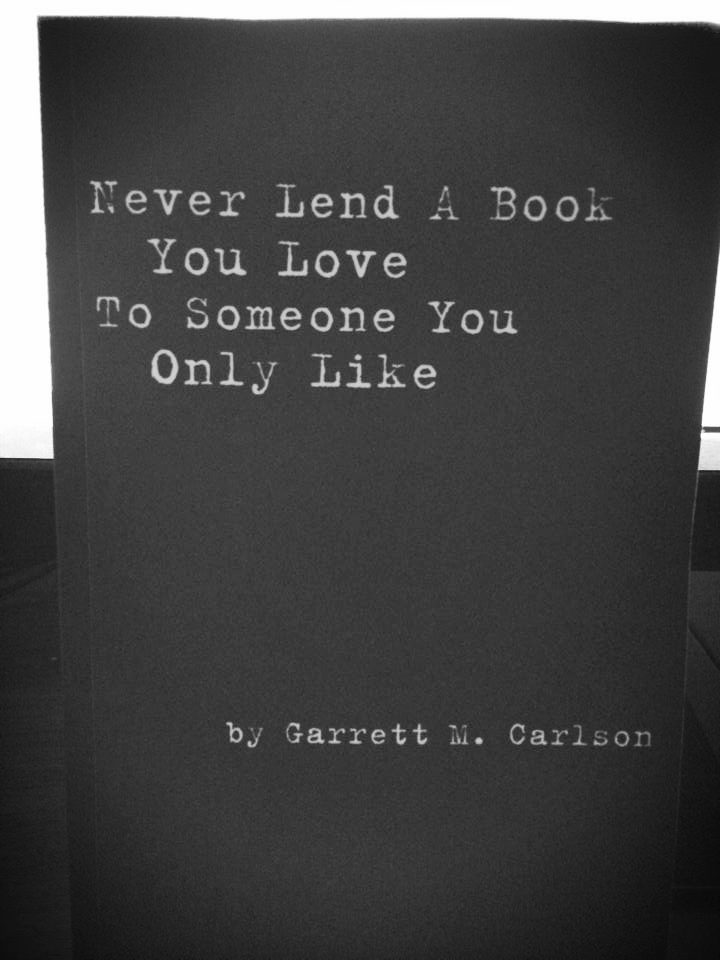 Click Here To Order Garrett's First Collection of Essays